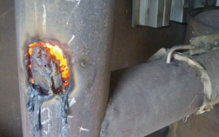 прогоріла піч в лазні як полагодити