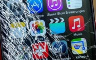 як полагодити розбитий телефон
