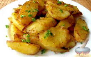 Як зробити картоплю в духовці