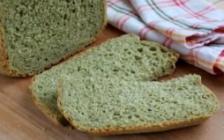 Хліб зі шпинатом рецепт