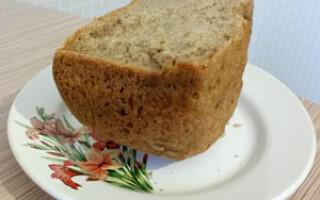Чорний хліб в хлібопічці Панасонік 2501 рецепти