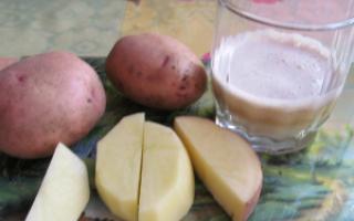 Сік картоплі при гастриті