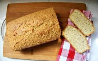 Кето хліб рецепт з мигдальною борошна
