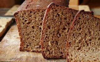 Як готувати житній хліб в духовці без пшеничного борошна рецепт