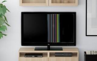 смуги на телевізорі сумісного як полагодити