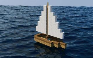 Як зробити човен в майнкрафт