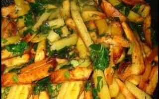 Як зробити смажену картоплю