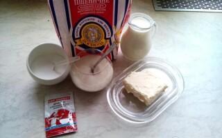 Хліб на кислому молоці рецепт