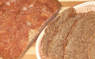 Книга рецептів хліба на заквасці