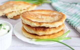 Хліб на кефірі на сковороді рецепт з фото