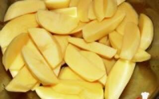 Картопля з прованськими травами