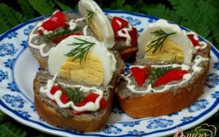 Грибна намазки на хліб рецепт