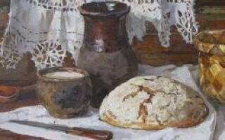 Крохмальний кіселек для змазування хліба рецепт