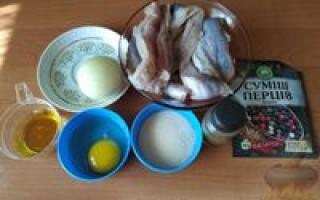 Рецепт рибних котлет з манкою замість хліба