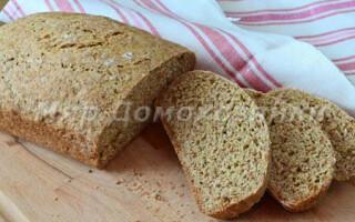 Рецепт хліба на ряжанка в духовці