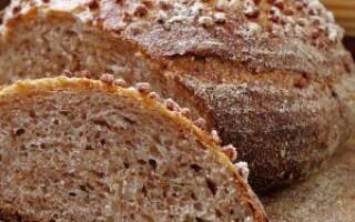 Хліб з гречаного борошна в хлібопічці рецепти