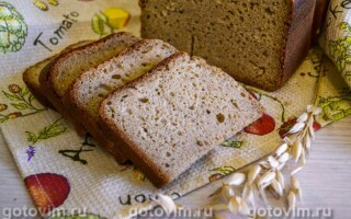 Кукурудзяний хліб на заквасці рецепт