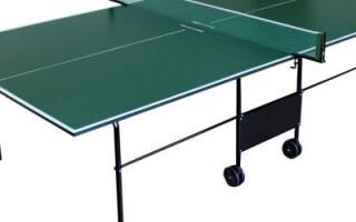Як зробити тенісний стіл своїми руками