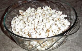 Як зробити попкорн в мікрохвильовці