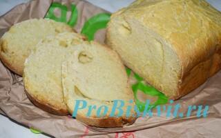Хліб на кефірі в хлібопічці рецепти без дріжджів