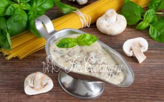 Як зробити грибний соус