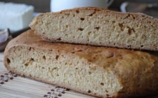 Рецепт хліба на сковороді без дріжджів