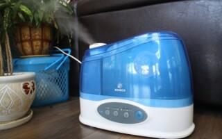 як полагодити зволожувач повітря якщо не йде пар