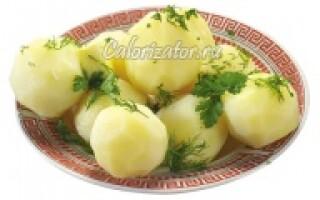 Картопля на пару користь і шкода