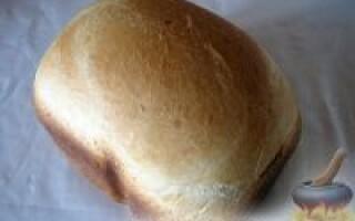 Рецепт хліба в хлібопічці 1200 грамів