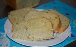 Хліб з оливками в хлібопічці рецепти