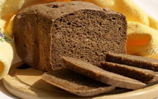 Чорний хліб в хлібопічці рецепт як в магазині