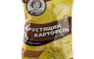 Чіпси хрустка картопля склад