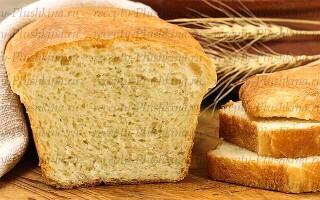 Рецепт смачного заварного хліба сірого білого