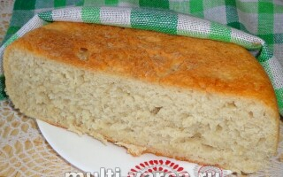 Рецепт висівкового хліба в мультиварці