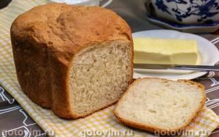 Рецепт хліба для тостів в хлібопічці