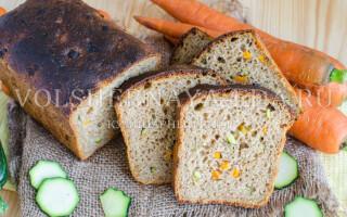 Овочевий хліб рецепт