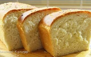 Білий хліб цеглинка по госту відео рецепт