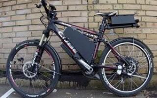 Як зробити електровелосипед зі звичайного велосипеда