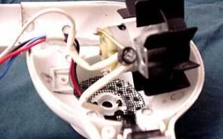 як полагодити фен