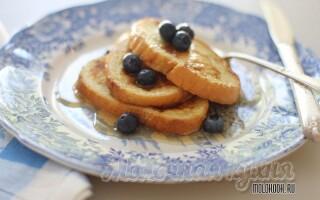 Покроковий рецепт приготування смажити білий хліб