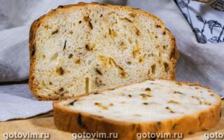 Цибулевий хліб в хлібопічці рецепт