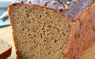 Рецепт бородинского хліба на заквасці в домашніх умовах