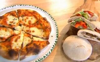 Чесний хліб піца рецепт