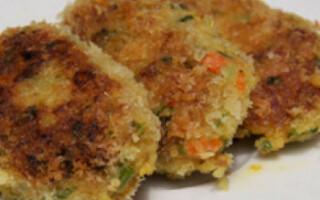 Котлети з картоплі і рису