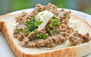 Дієтичні намазки на хліб рецепти