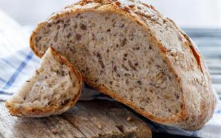 Хліб мультизернові рецепт