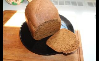 Рецепт житнього хліба в хлібопічці Лджі