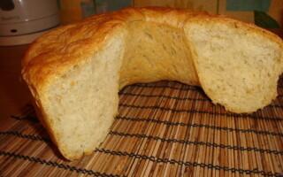 Рецепт хліба з картопляним пюре