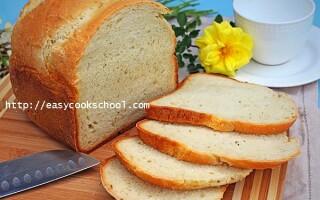 Рецепт хліба в хлібопічці без дріжджів і без закваски