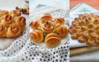 Як зробити красиві булочки